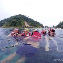 Pulau Tegal Mas di Lampung menjadi pilihan baru wisata laut