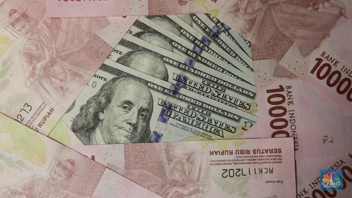 Rupiah Melemah ke Rp 14.235/US$