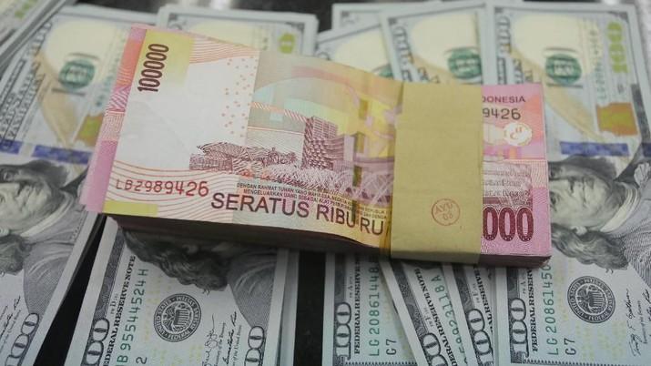 Penutupan Pasar: Rupiah Melemah ke Rp 14.054/US$