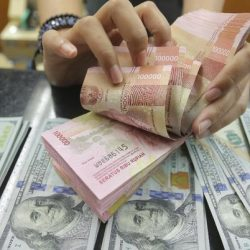 Rupiah melemah ke Rp 14.255/US$