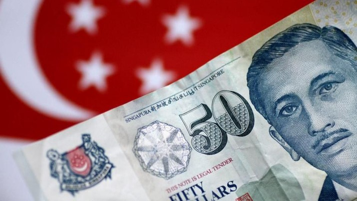 Damai Dagang AS-China Bikin Rupiah Loyo Lawan Dolar Singapura
