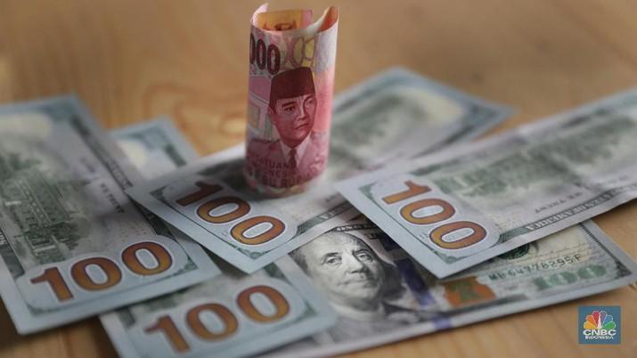 Ekonomi AS Masih Strong, Rupiah Jadi Kopong